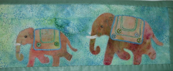 Barbara Deacon, C&G Stitched Textiles