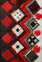 Needle-weaving, counted-thread, caselguidi.